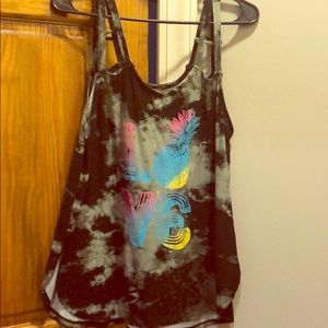 Tye dye LOVE tank top